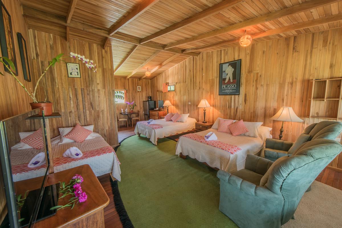 Habitación hotel los jardines de monteverde